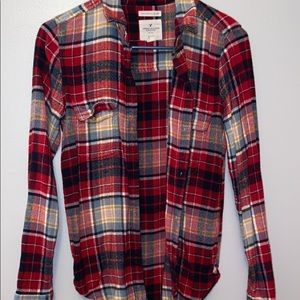 American Eagle button-up flannel